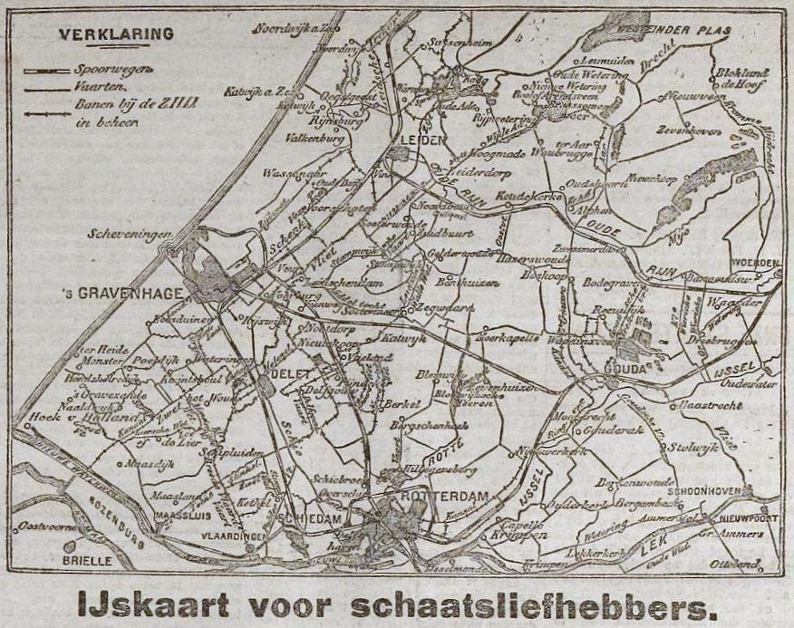 1922 ZHIJ IJskaart zaterdag 11 febr 5LD